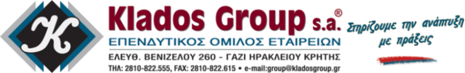 KLADOS GROUP S.A.